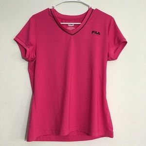 Pink Breathable Activewear Shirt